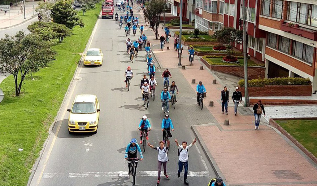 día sin carro ciclovías