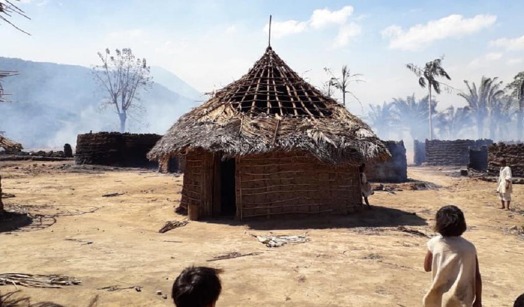 Pueblo Arhuaco en emergencia por incendio