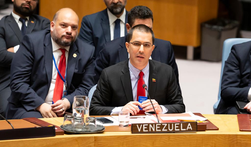 Boicot al discurso de Jorge Arreaza en la ONU