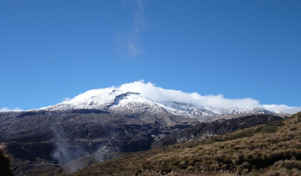 Cuando el Nevado del Ruiz ataca