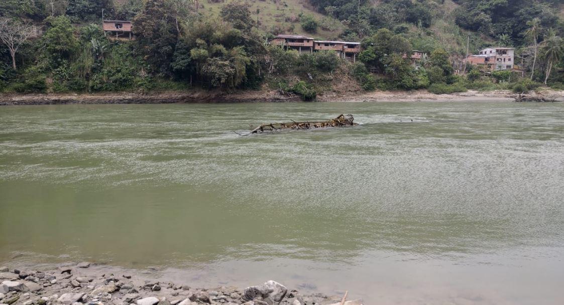 Apareció puente que se había llevado creciente del río Cauca
