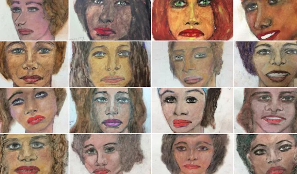 Asesino serial dibujaba retratos de sus víctimas
