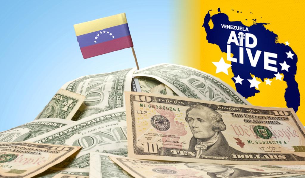 Venezuela Aid Live lejos de llegar a la meta
