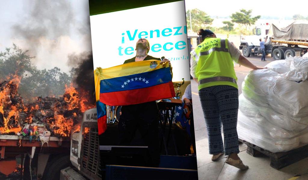 GNB no dejó entrar ayuda, Maduro es un monstruo