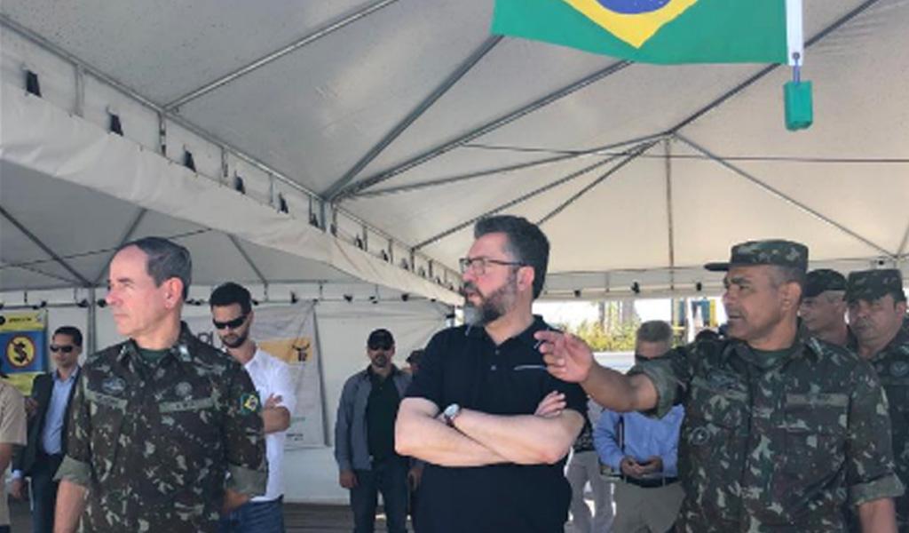 """""""Ya entró primer cargamento de ayuda humanitaria"""""""