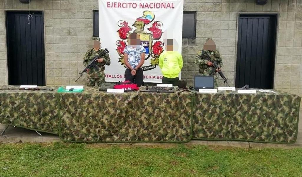 Capturado cabecilla del ELN en nordeste de Antioquia