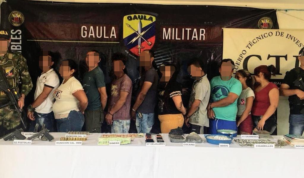 Autoridades entregan balances de operativos en Antioquia