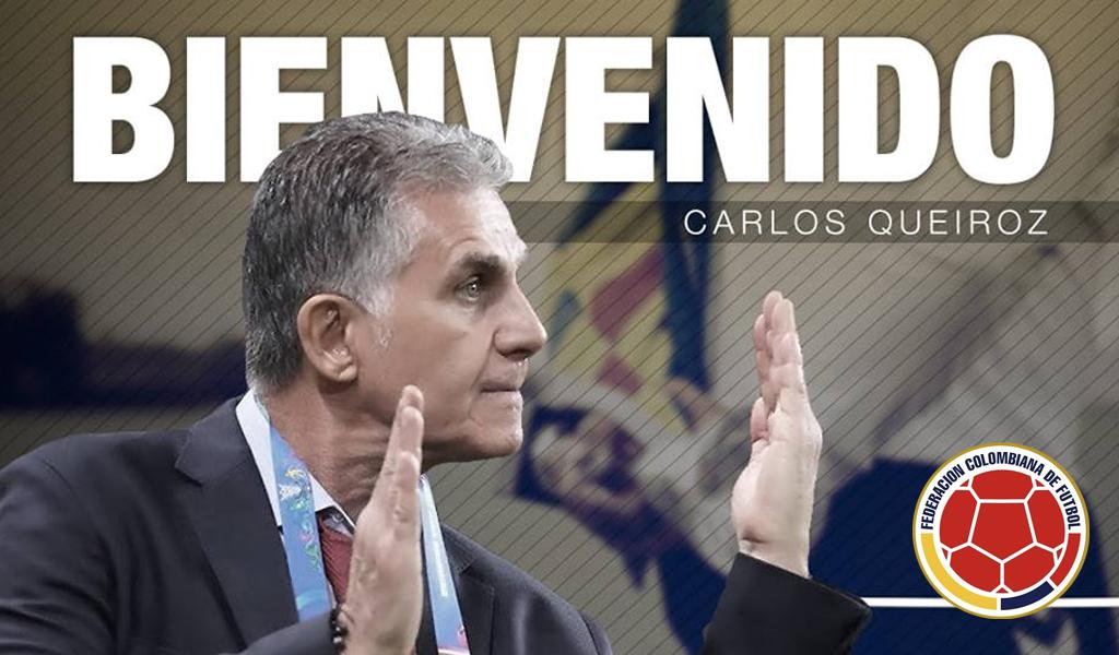 Selección Colombia: primeras palabras de Carlos Queiroz