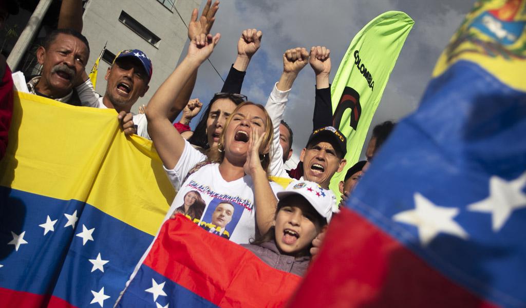 El mundo lucha por la libertad de Venezuela