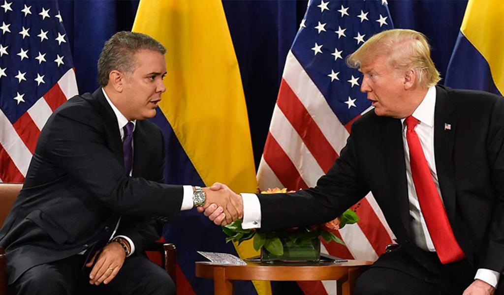 Duque y Trump se reunirán en Washington