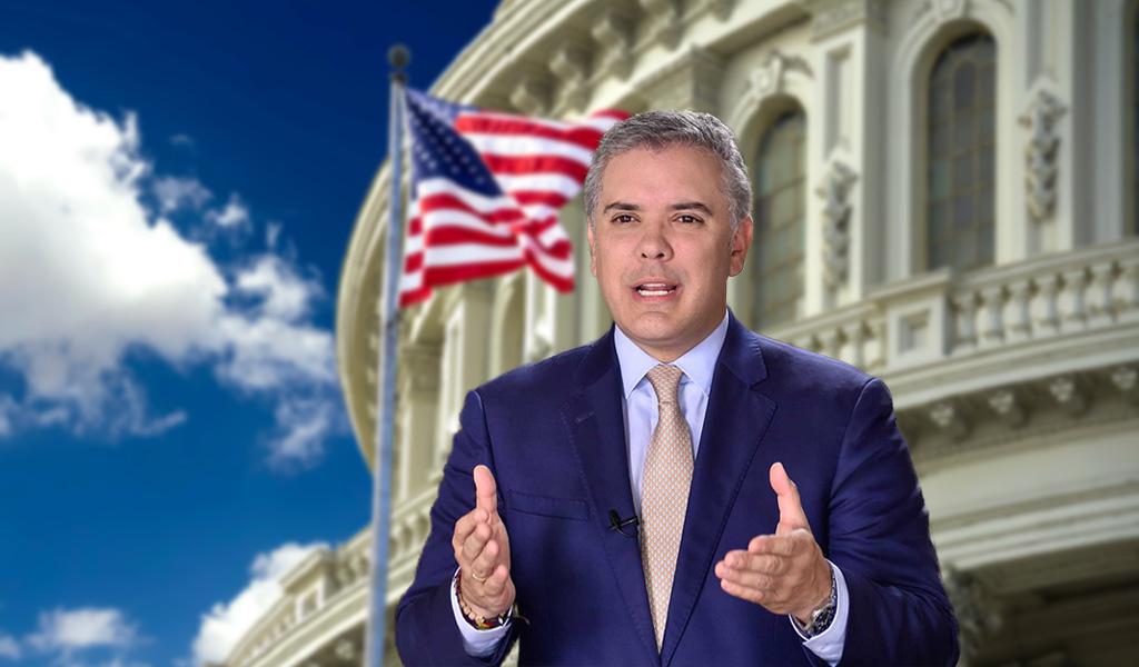 Iván Duque iniciará visita de trabajo en EE.UU.