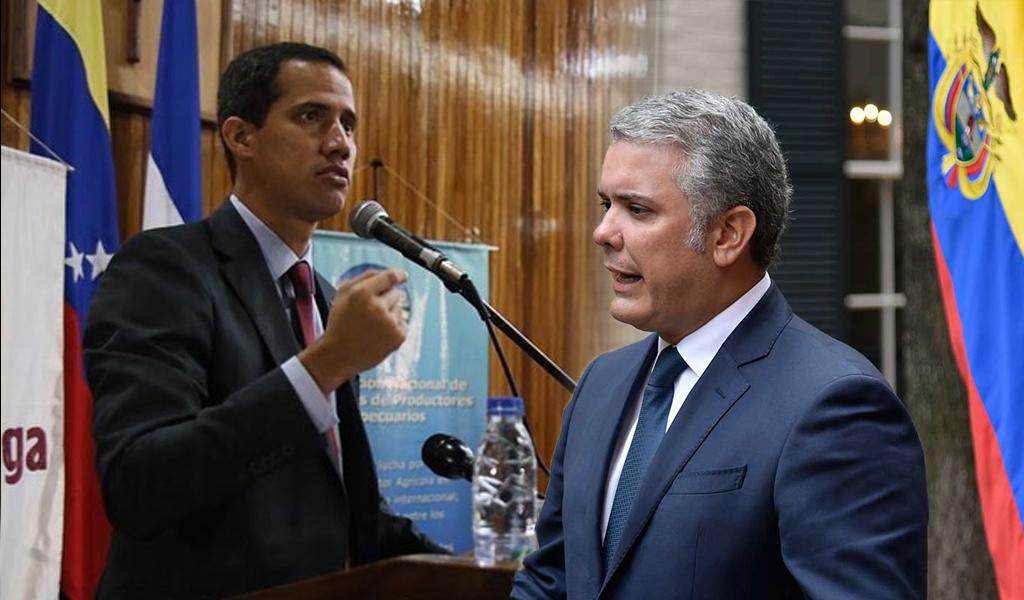 """""""Rechazamos cualquier ataque contra Guaidó"""": Duque"""