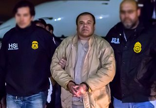 Revelan imágenes inéditas de la captura del 'Chapo'