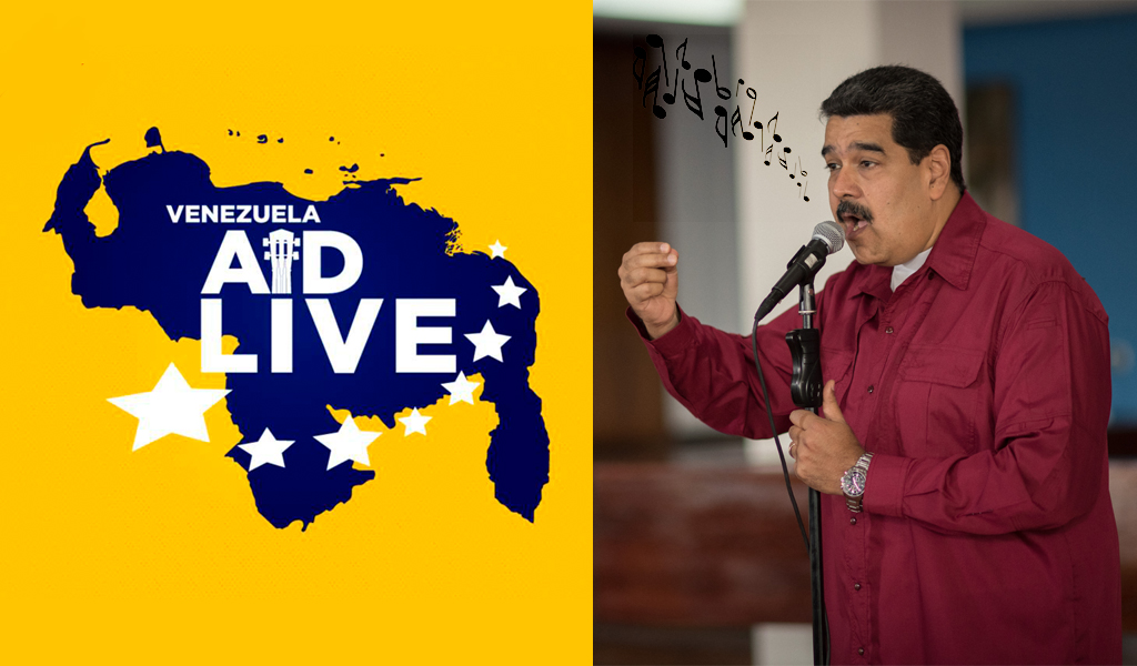 Venezuela anuncia medidas restrictivas por concierto
