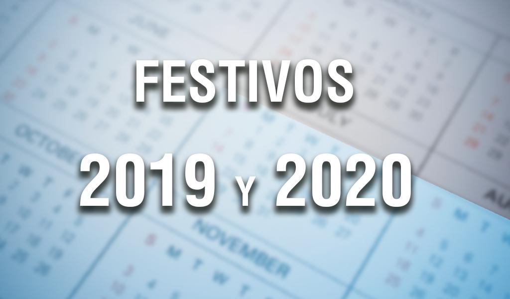 Calendario 2019 Y 2020 Con Festivos Para Colombia.Oficial Lista Completa De Dias Festivos En Colombia 2019 Y 2020