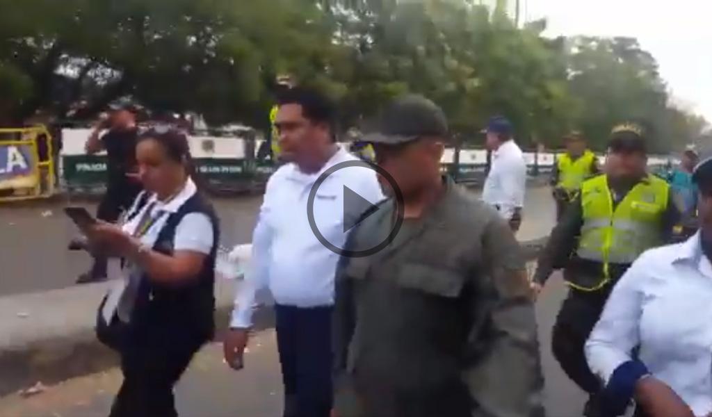 Guardias venezolanos se entregan a Migración Colombia