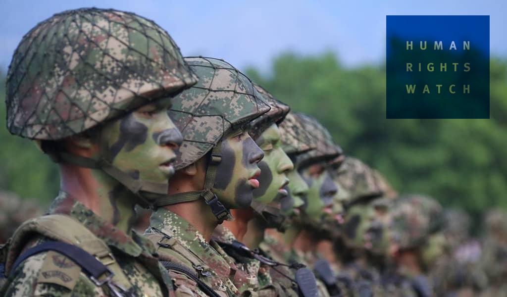"""HRW: Nueve generales implicados en """"falsos positivos"""""""