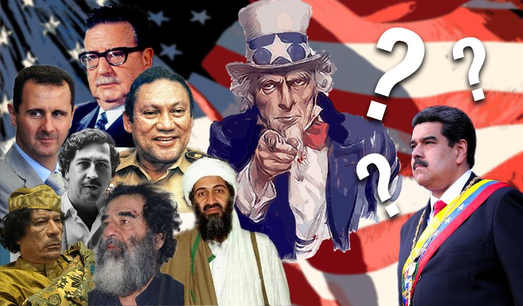 EEUU ha derrocado 50 líderes:¿Maduro será el siguiente?