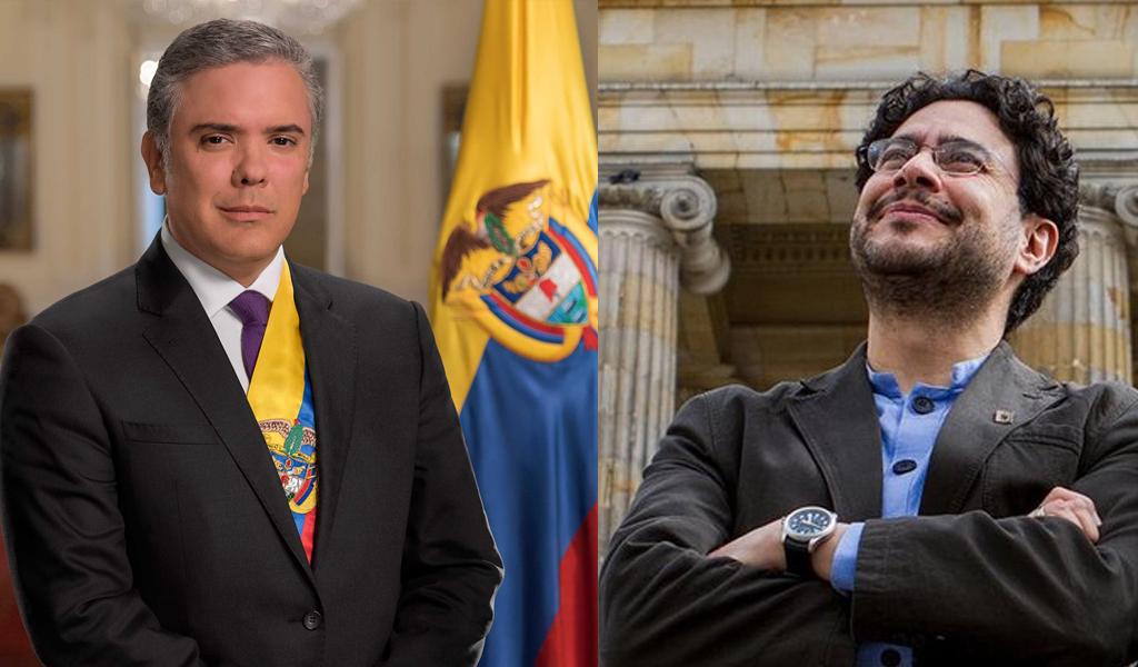 Cepeda denunció a Duque y al fiscal Néstor H. Martínez