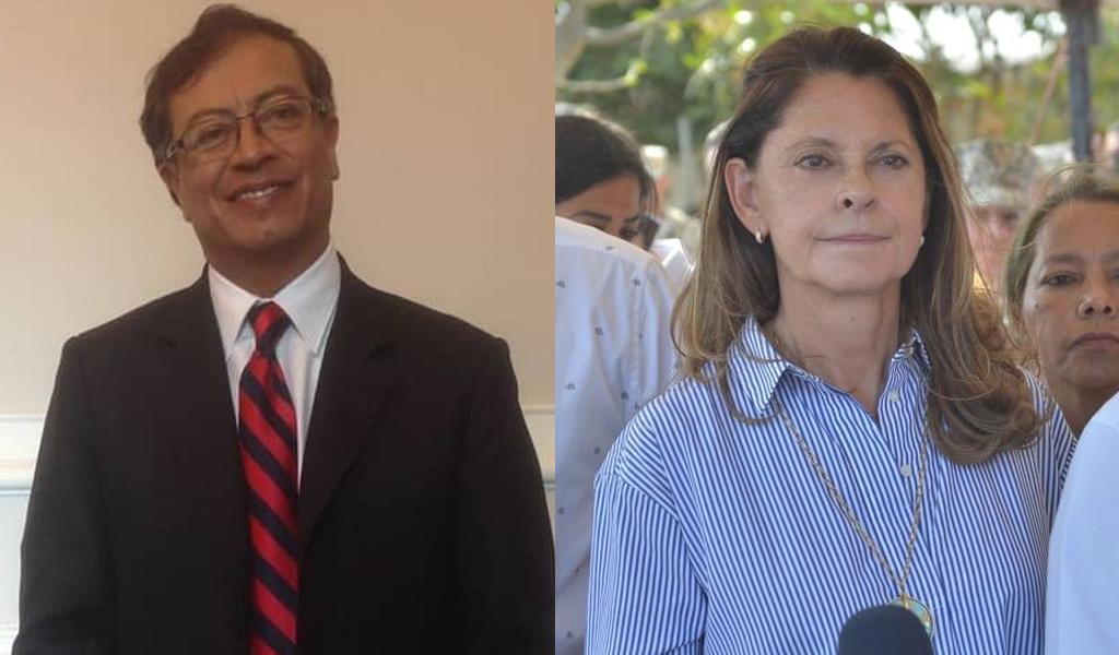 Marta Lucia Ramírez carga contra Petro por inasistencia