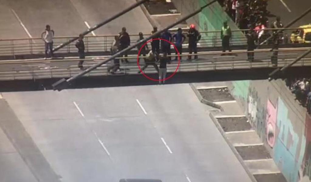 Policías evitan intento de suicidio en Antioquia