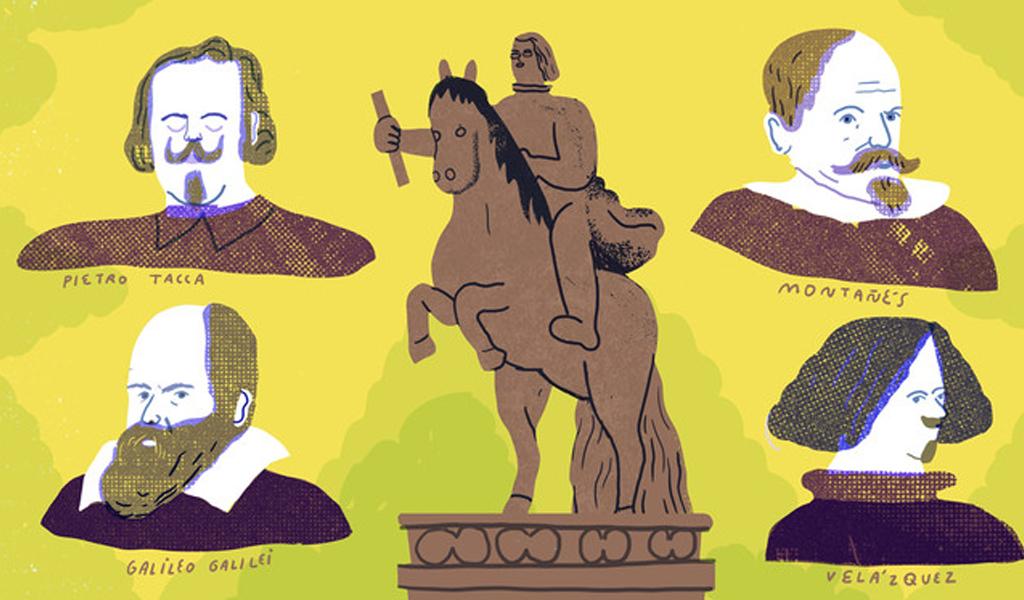 La estatua que se hizo con la mente de cuatro genios