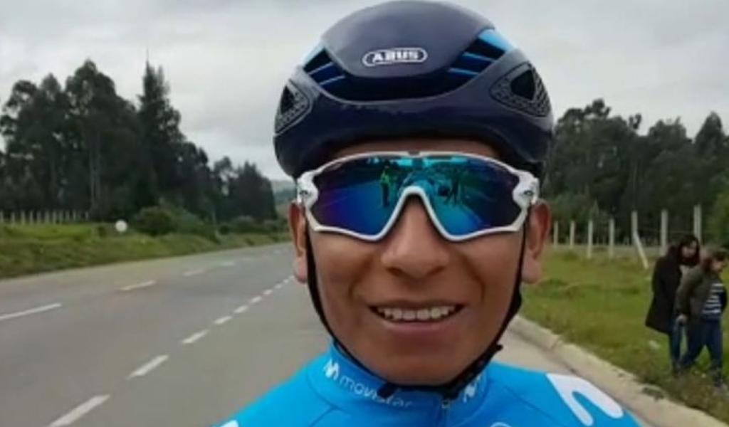 El debut de Nairo Quintana con el Arkea Samsic