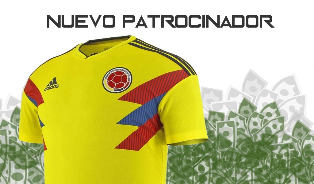 Selección Colombia tiene nuevo socio oficial