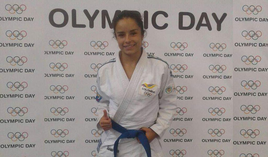 Adriana Cruz por el mundial de Jiu Jitsu