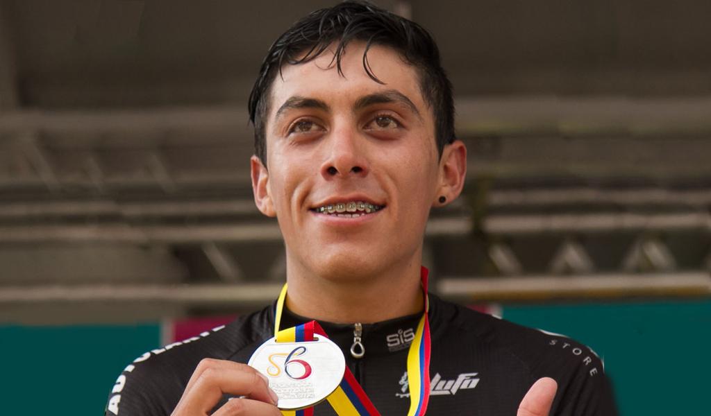 Óscar Quiroz, el campeón nacional de ruta