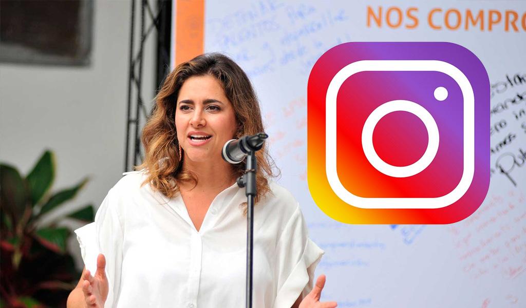 Primera dama de la nación ahora en Instagram