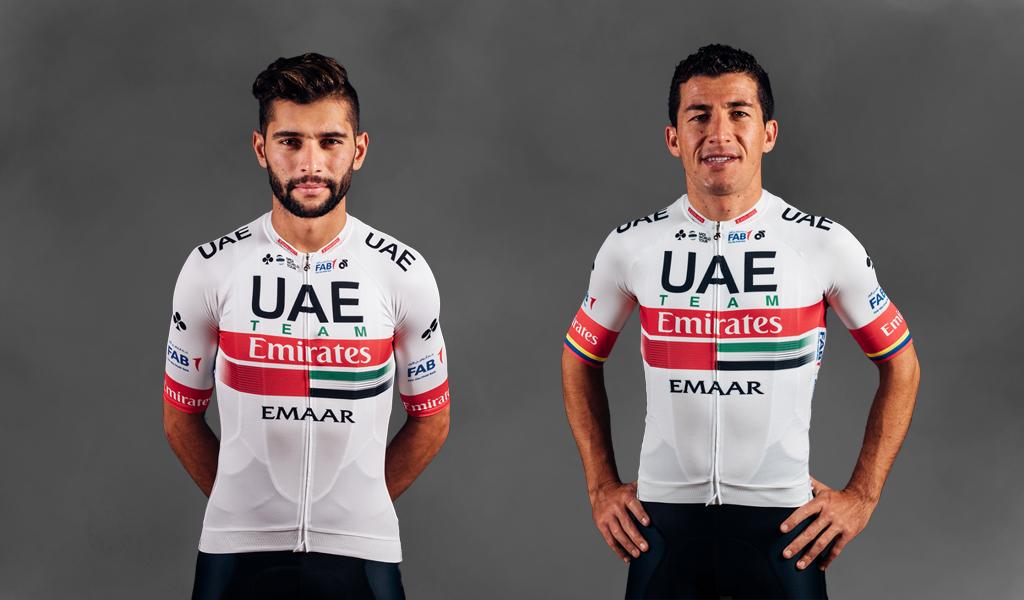 El UAE Team está listo para el Tour Colombia