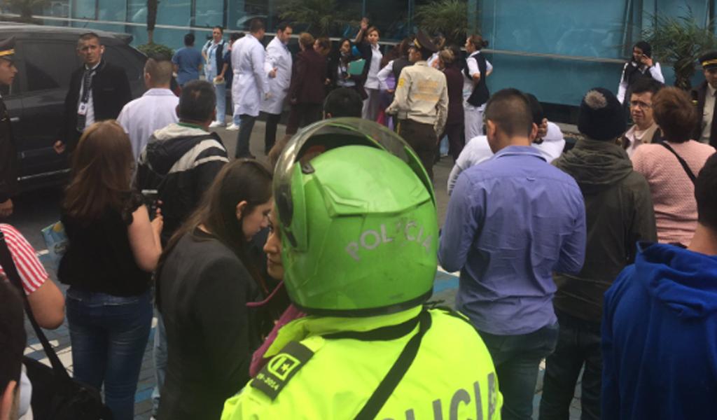Hombre se suicida en la Clínica Colombia