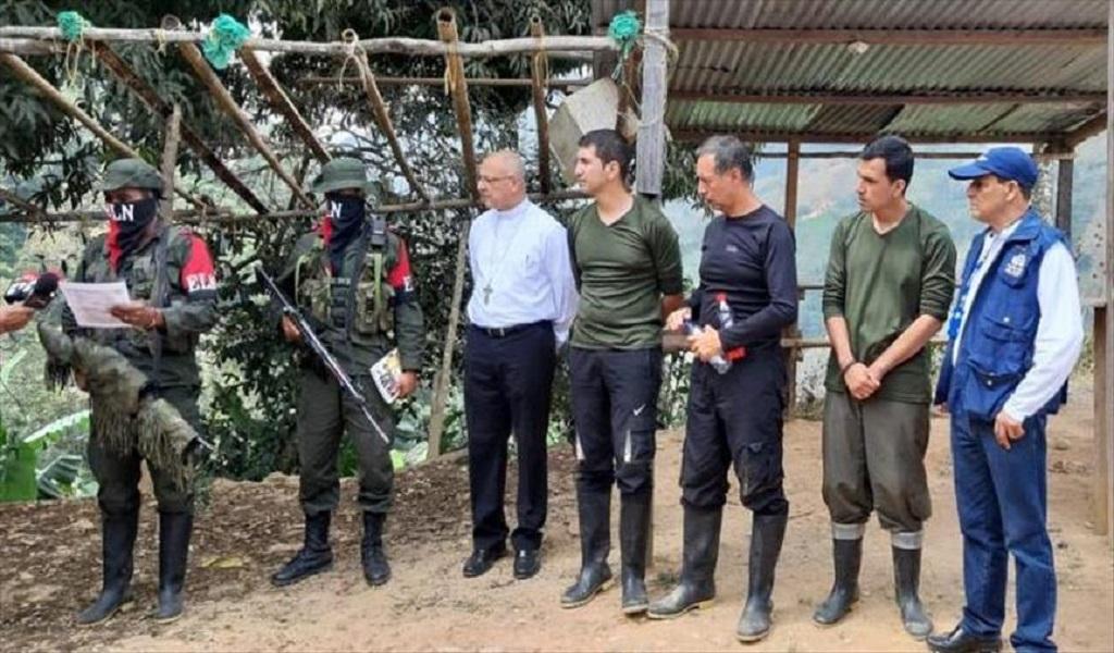 Eln entrega tres secuestrados en Norte de Santander