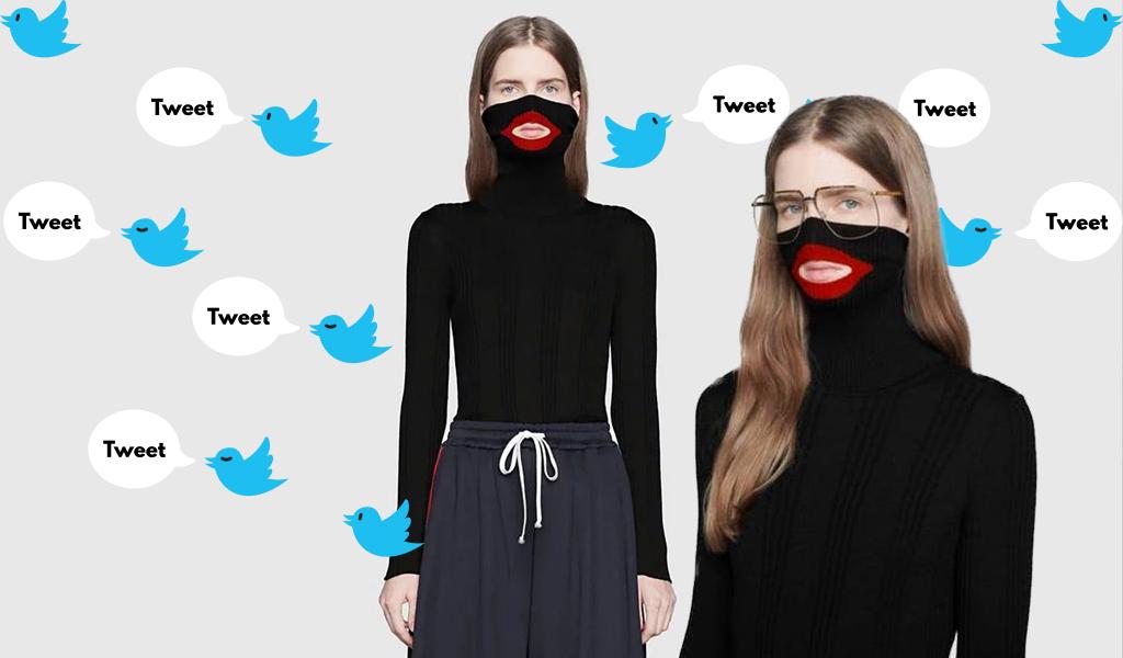en pies imágenes de Venta caliente genuino mejor venta Este es el buzo por el que Gucci está siendo acusado de racismo