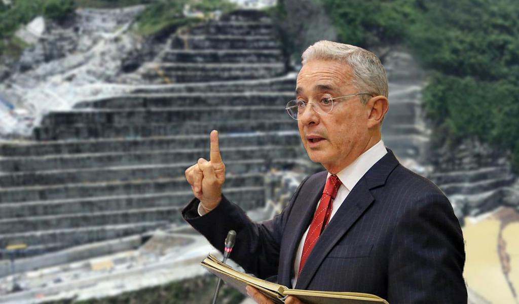 Uribe propone más represas en el río Cauca