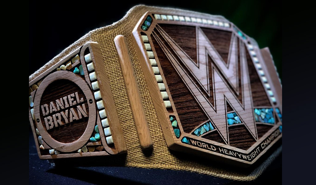 El cinturón eco-friendly de la WWE