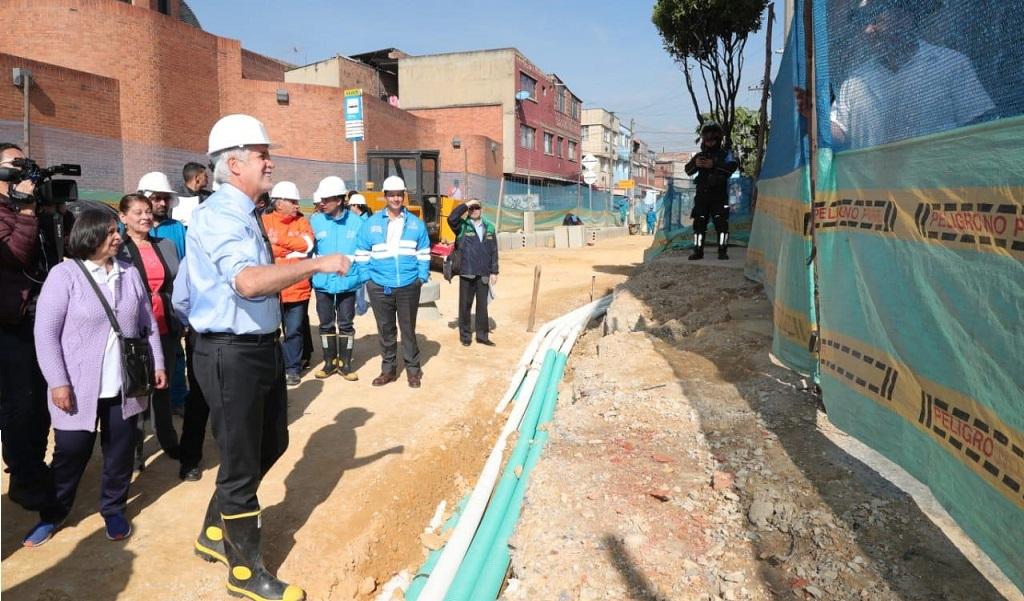 Barrio Muzú de Bogotá estrenará nuevo acueducto