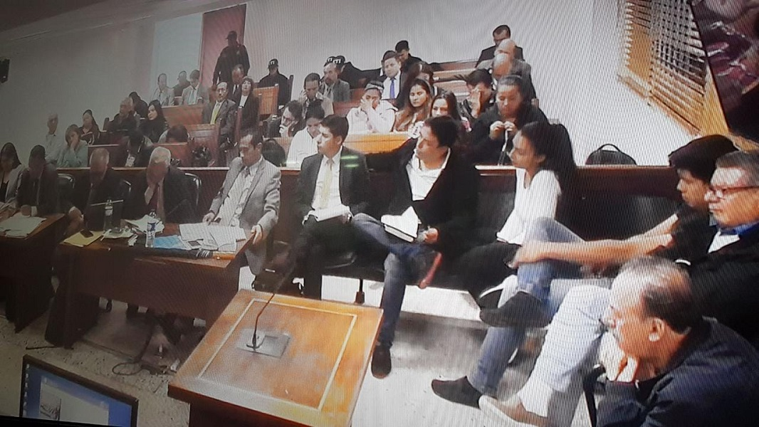 Audiencia JEP Bermeo Gil