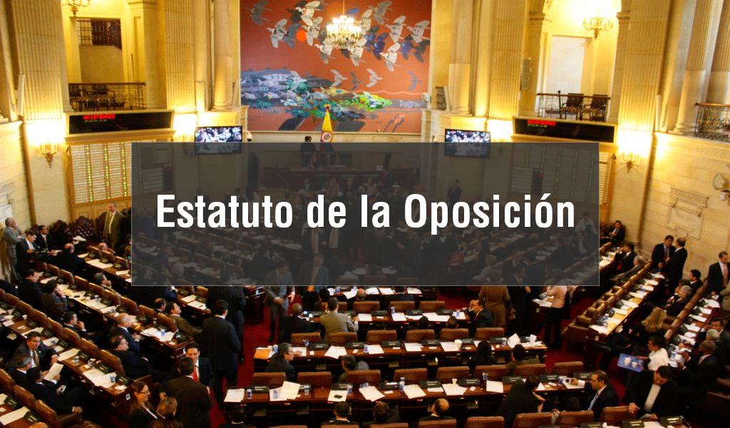 Ha funcionado el Estatuto de la Oposición