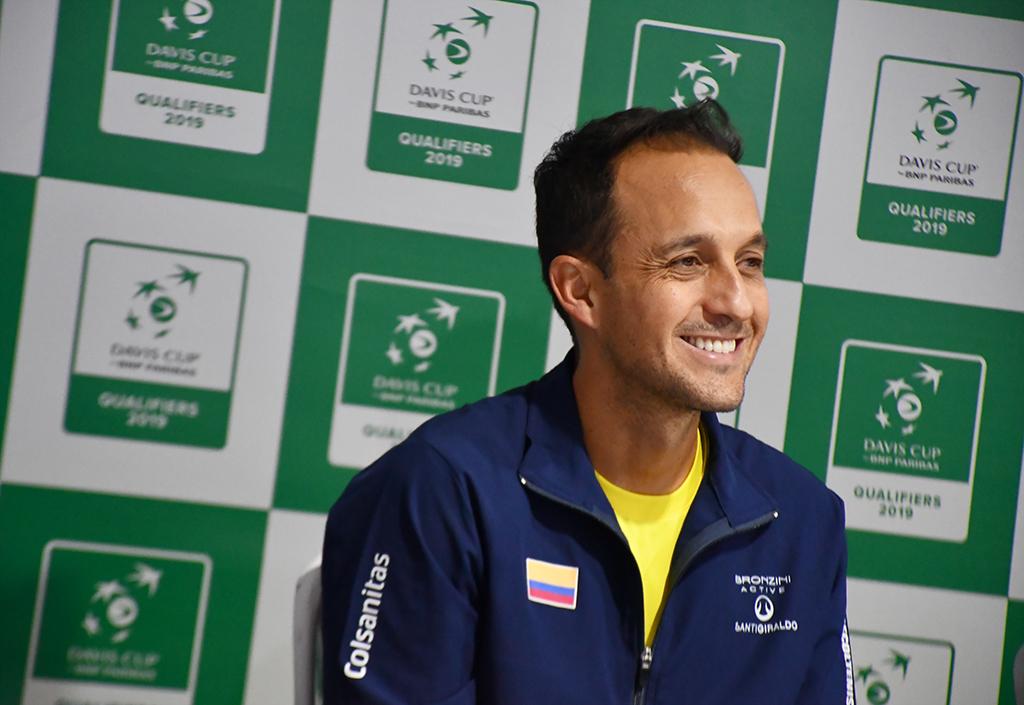 Pablo González, capitán Selección Colombia de tenis