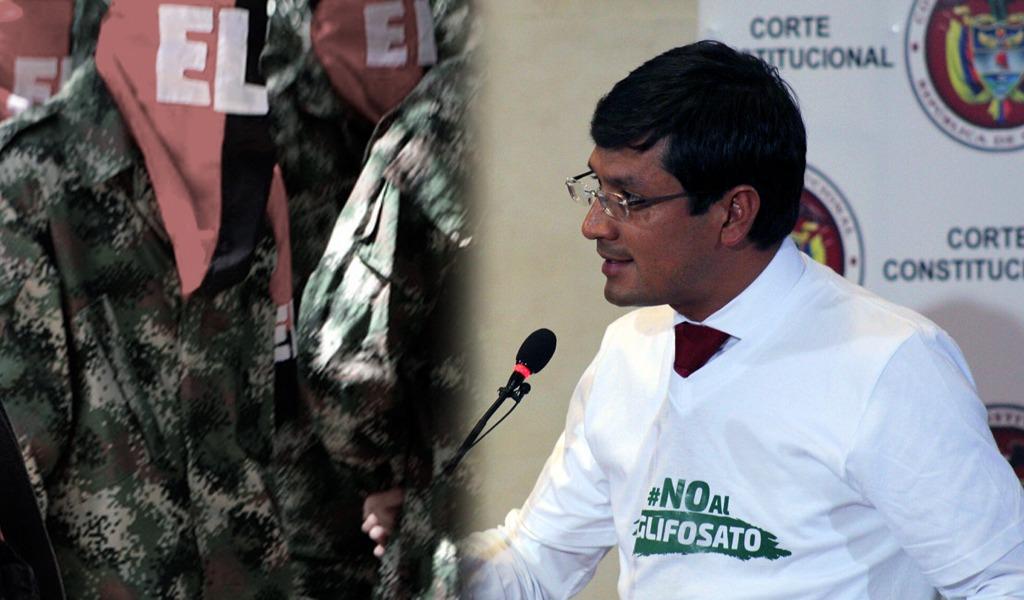 Eln negó amenazas contra gobernador de Nariño