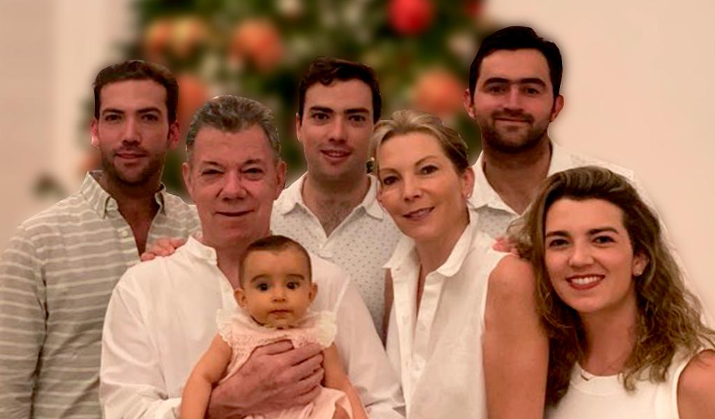 La famlia del expresidente Santos compartió con un reconocido empresario