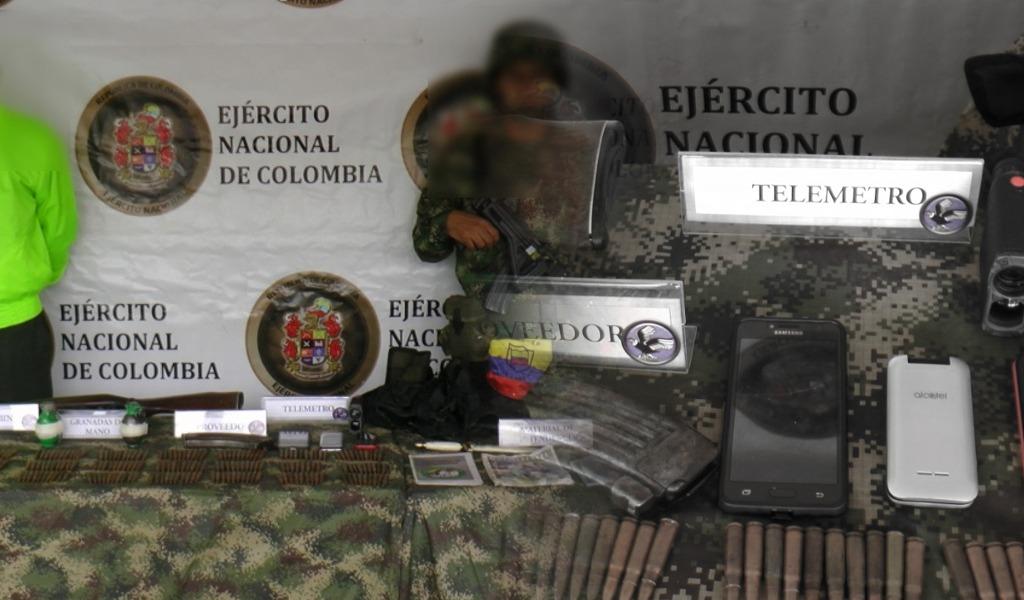 Ejército rescata adolescente de manos de grupo armado