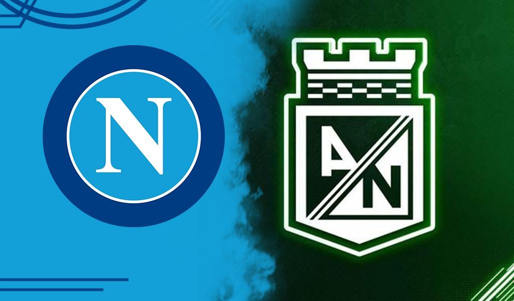 Este fue el mensaje del Napoli a Nacional para partido ante Millonarios