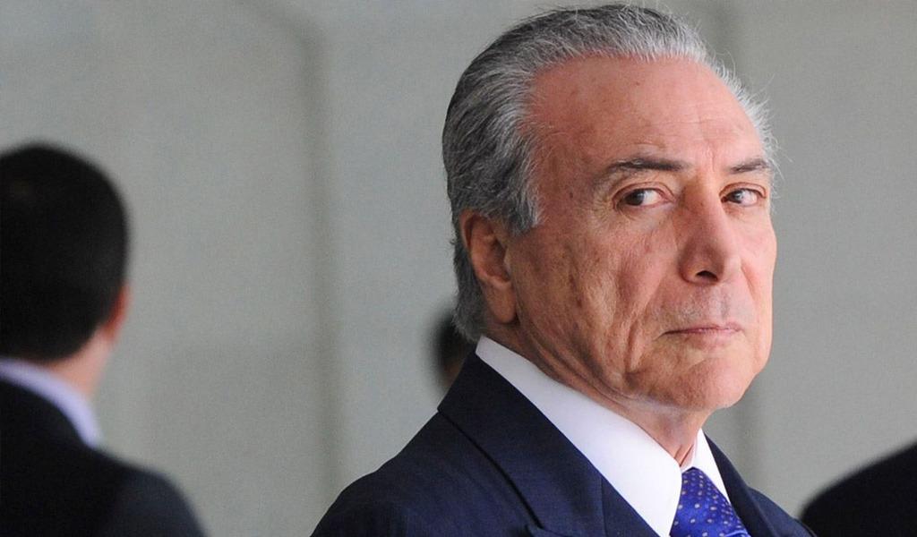 Juez ordena liberar al expresidente brasileño Michel Temer