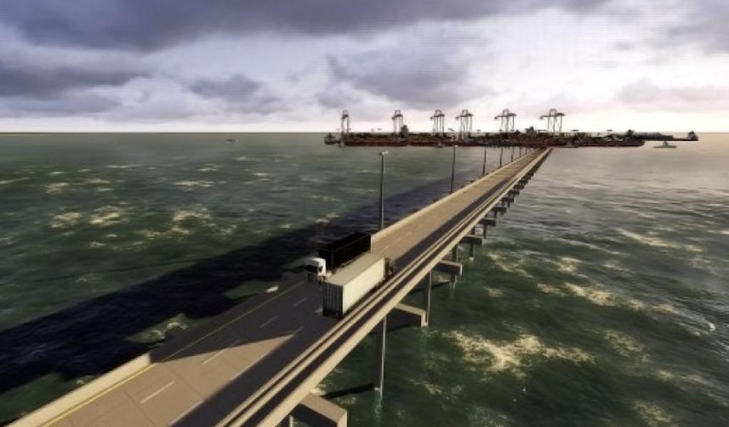 Firman contrato para construcción de Puerto Antioquia