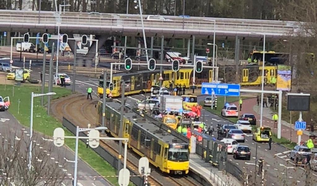 Varios heridos por tiroteo en Ultrecht, Holanda