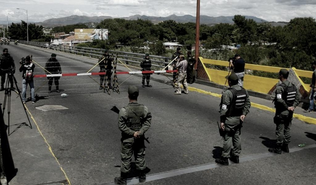 Cancillería militares venezolanos