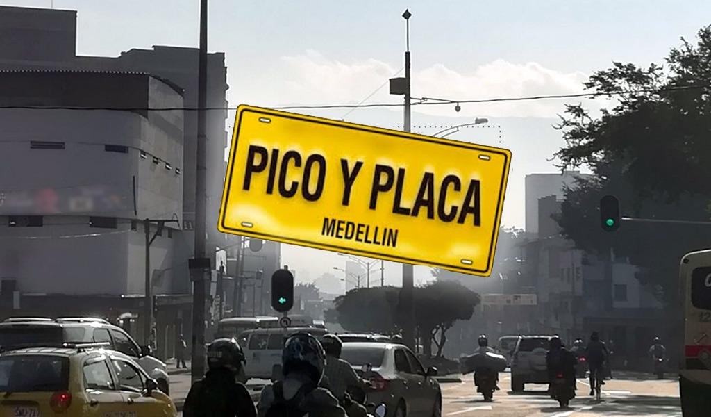Medellín intensifica su medida de pico y placa